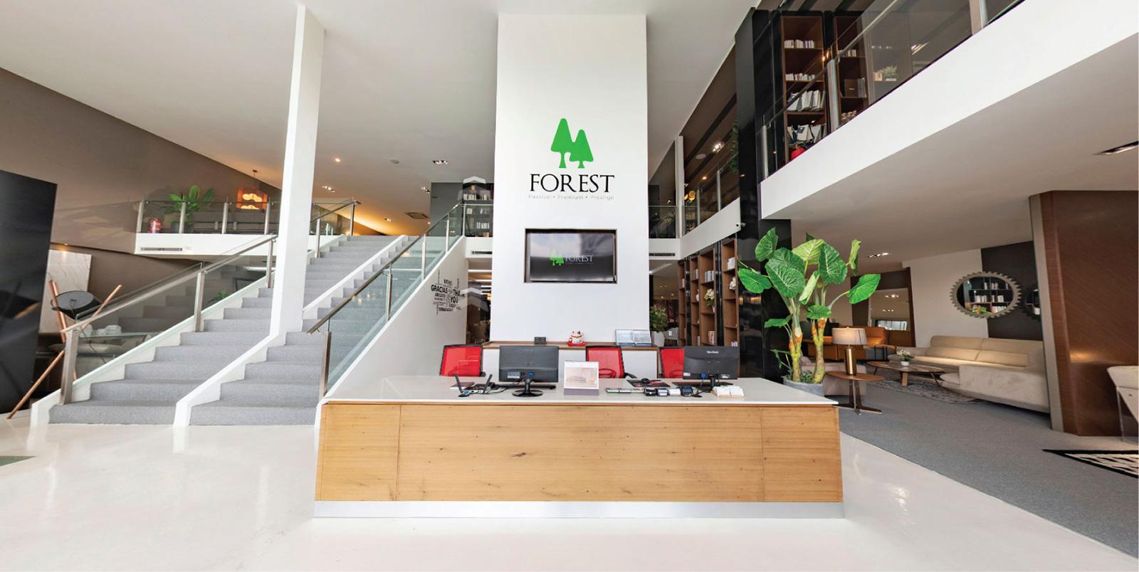 Forest Furniture Showroom Indoor